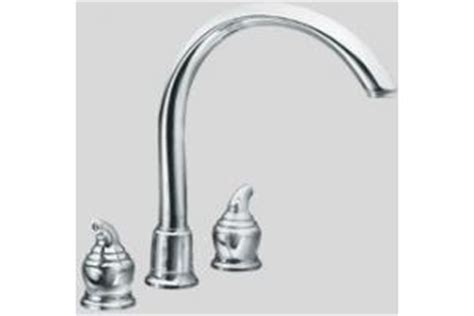 Moen 7785 Monticello Chrome Two Lever Kitchen Faucet