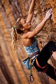 Mountain Rock Climbing Girls