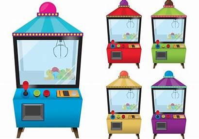 Claw Machine Vectors Arcade Eps Machines Vecteezy