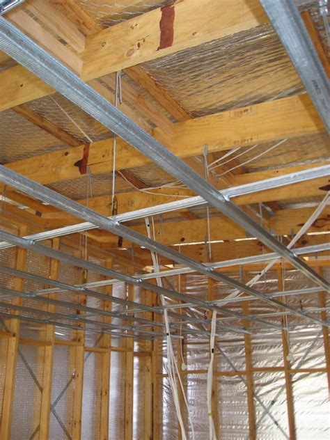 Suspended Ceiling Joist Hangers by Framing For Suspended Ceiling Esk Valley House