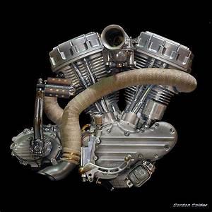 No 15  Iron Pit    Frank Van Geffen Panhead Motorcycle Engine