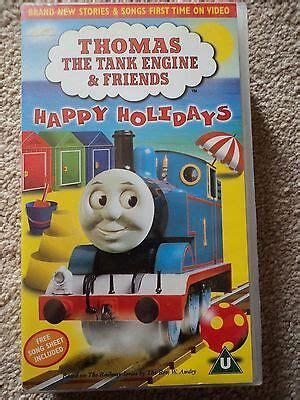 the tank engine friends happy holidays songs vhs 163 7 50 picclick uk