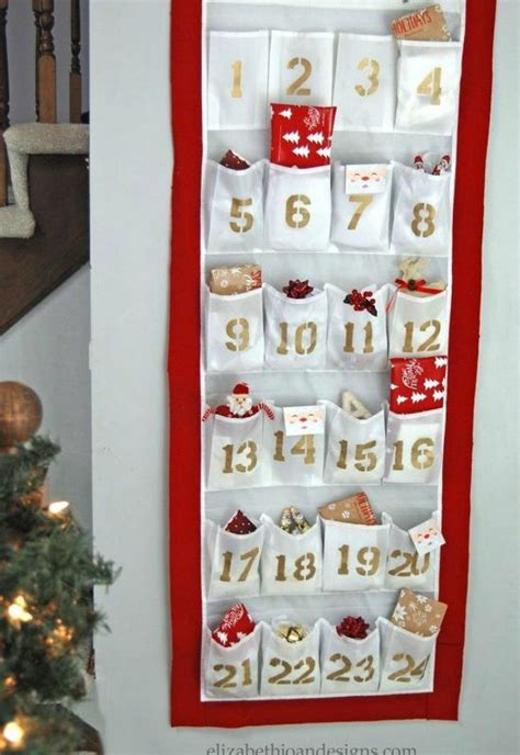 advent calendar ideas    cute hometalk