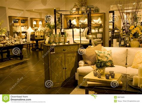 funiture and home decor store royalty free stock image