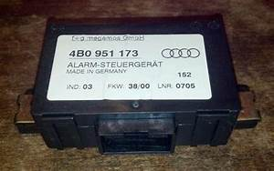 Purchase Audi A4 Alarm Module 4b0 951 173 Motorcycle In
