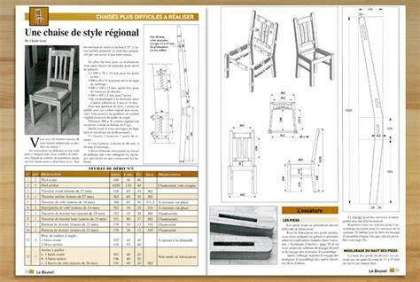 plan de chaise en bois fabriquez vos chaises méthodes et techniques boutique blb bois le bouvet