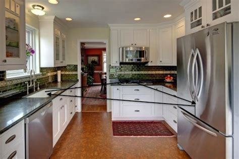 Kitchen Triangle Design   Case Design/Remodeling of San Jose