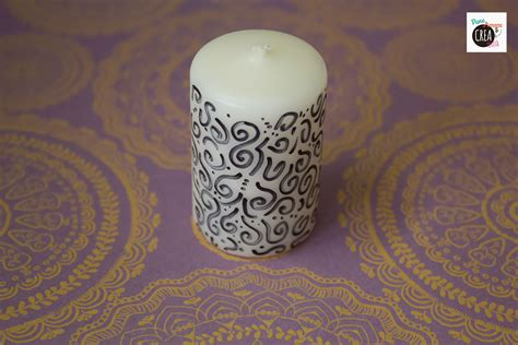 Decorare Candele by 10 Modi Per Decorare Le Candele 183 Pane E Creativit 224