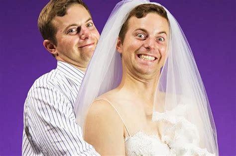 guys   wedding dresses