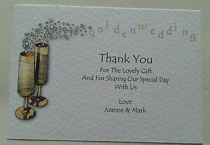 golden wedding anniversary   cards personalised