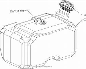 Mtd 14a7a3zw099  247 204450   G8400   2016  Parts Diagram For Fuel Tank