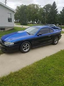 1994 Ford Mustang Sportscar Black Rwd Manual Gt