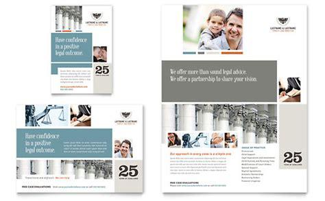 legal services leaflet templates word publisher