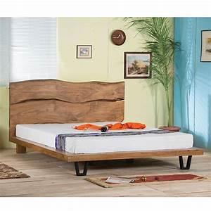 Bett 160x200 Holz : bett massiv holz und aluminium ~ Watch28wear.com Haus und Dekorationen