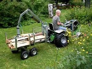 Mini Traktor Mit Frontlader : rasentraktor frontlader u holzspalter ~ Kayakingforconservation.com Haus und Dekorationen