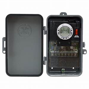 Ge 7 Off Outdoor Metal Box Timer  Selectable Vac