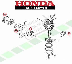 Honda Izy Carburettor Gasket Kit  Gcv135 Gcv160