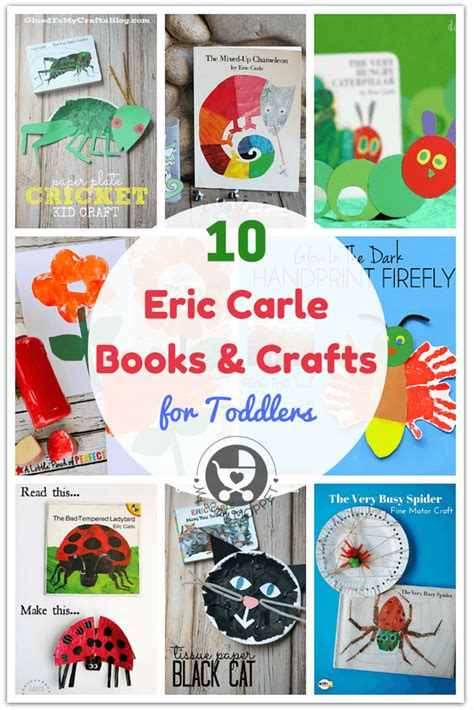 top  eric carle books  crafts  toddlers eric