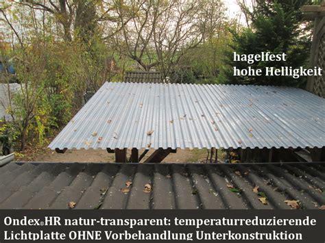 lichtplatten aus polycarbonat lichtplatten mit schutz vor hagelschaden der dachplattenprofi