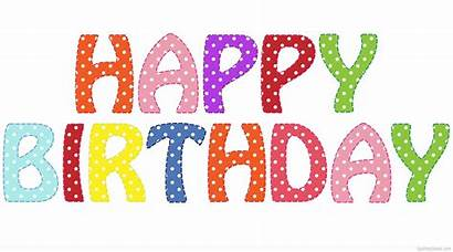 Birthday Happy Transparent Background Colorful