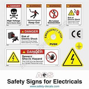 Electricity Safety Symbol