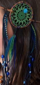 Headband, Dream Catcher Flower Crown, Feather hair ...