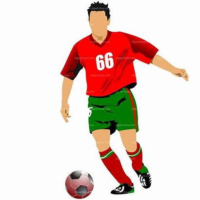 Soccer Clipart Player Players Clip Football Vector