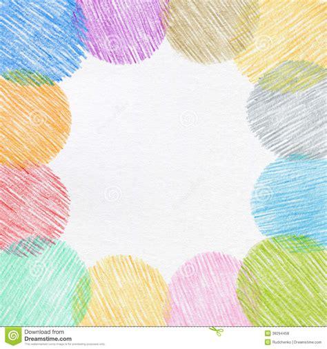 bureau palette cadre de crayon de couleur de dessin de photos libres