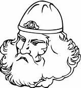 Viking Coloring Colorare Barba Disegno Colorir Legal Vikings Disegni Ages Printable Vichingo Gran Middle Beard Desenhos Bambino Nuovo Fa Che sketch template