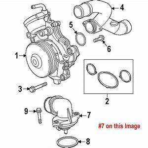 Jeep Cherokee Wk Thermostat Housing Crown 68253514aa