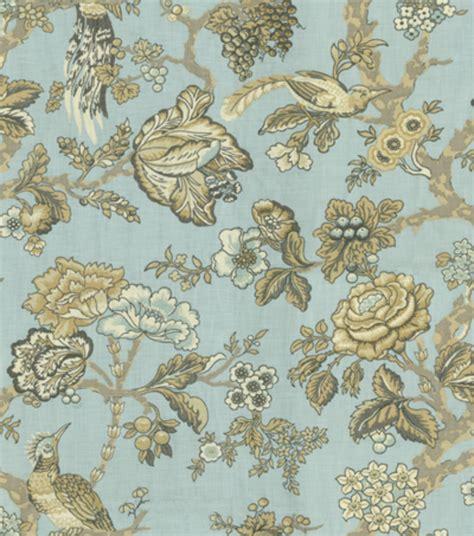 Home Decor Fabric by Home Decor Print Fabric Waverly Casablanca Moonstone