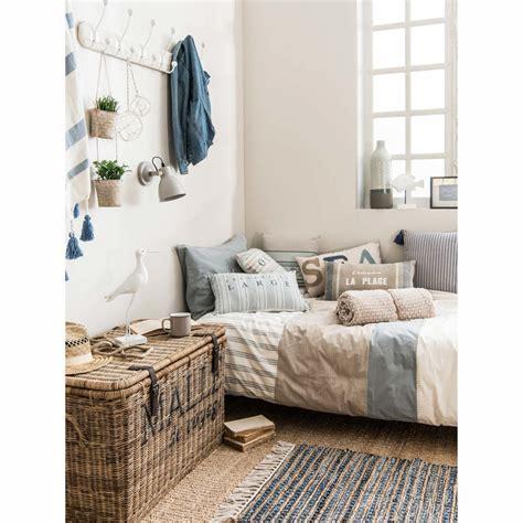 küchenzeile 260 cm parure de lit 240 x 260 cm en coton blanche oc 233 an maisons du monde