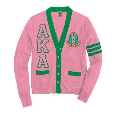 alpha kappa alpha colors alpha kappa alpha varsity cardigan the college crib