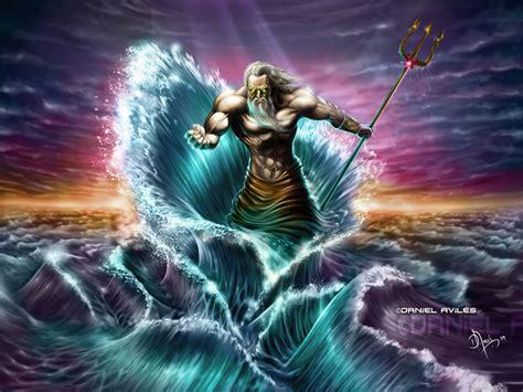 Greek God Of The Sea.