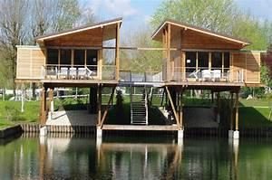 Chalet Bois Habitable Clef En Main : maison en bois sur pilotis en kit ventana blog ~ Melissatoandfro.com Idées de Décoration