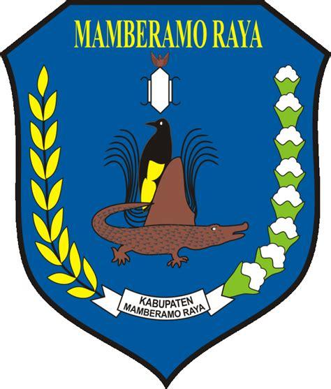 filelambang kabupaten mamberamo raya papuajpg wikipedia