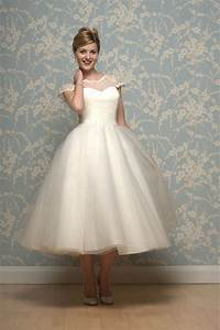 short tea length and 195039s inspired wedding dresses by With 1950s inspired wedding dresses