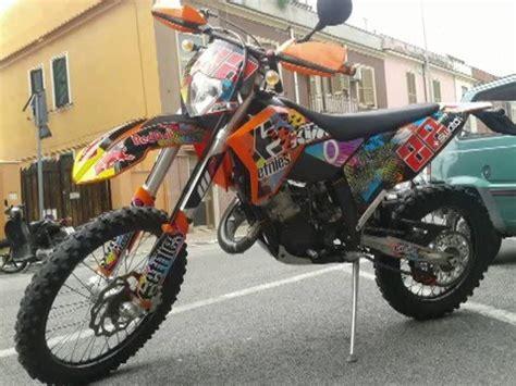 ktm  exc story motocross enduro youtube