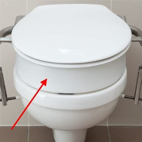Throne Accessories 80mm Toilet Seat Spacer   Independent 4