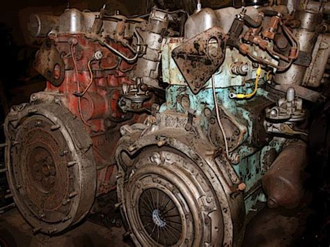 Land Rover Series 3 2.25 Diesel Engines, 3 And 5 Bearing