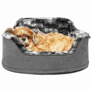 Precious, Tails, Faux, Fur, Princess, Pet, Dog, Bed, With, Plush, Bone, Pillow, -, Walmart, Com