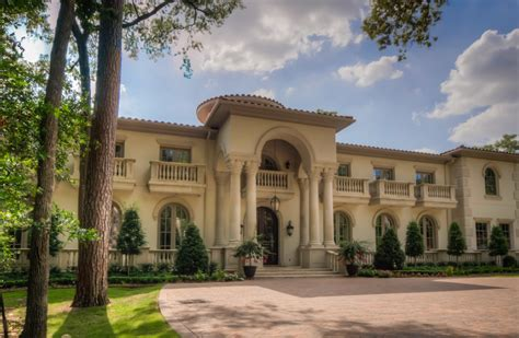 mediterranean mansion in houston tx with amazing foyer