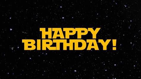 Cela fait 19 ans aujourd'hui que le staff de planète star wars (ex : Carte Joyeux Anniversaire Star Wars : Star Wars ...