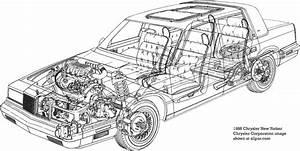 1992 Chrysler New Yorker Fifth Avenue Belt Diagram