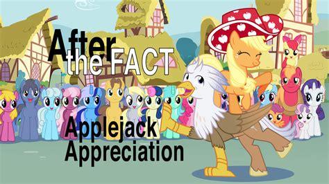 fact applejack appreciation  mlp silver quill