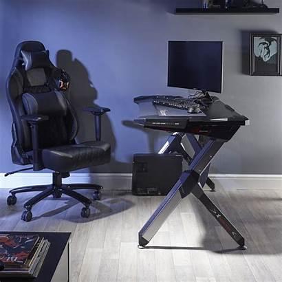 Gaming Desk Rgb Lynx Xrocker Rocker Pc