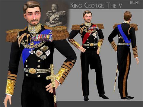 king george  uniform  bruxel  tsr sims  updates