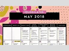May 2018 Workout Calendar! – Blogilates