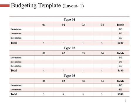 revenue budget powerpoint   powerpoint