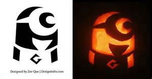 Minions Pumpkin Carving Templates by 1000 Ideas About Minion Pumpkin On Pinterest Minion